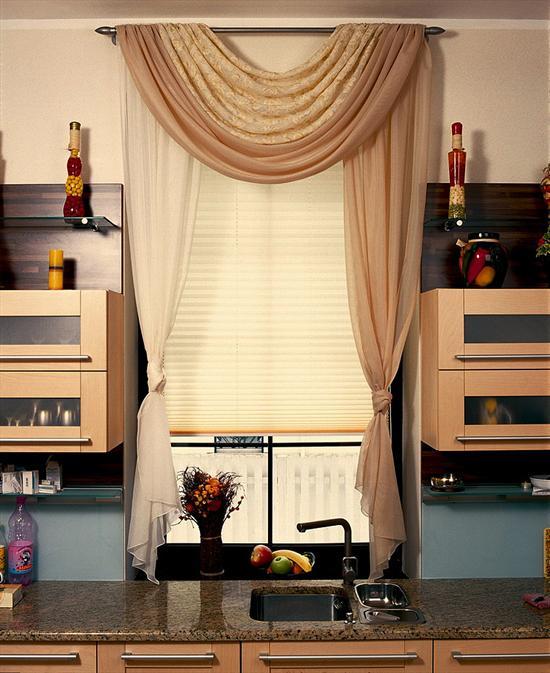 Шторы для кухни студии фото