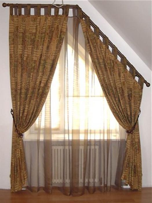 шторы для мансарды фото